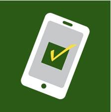 illustration of CSM safe mobile app