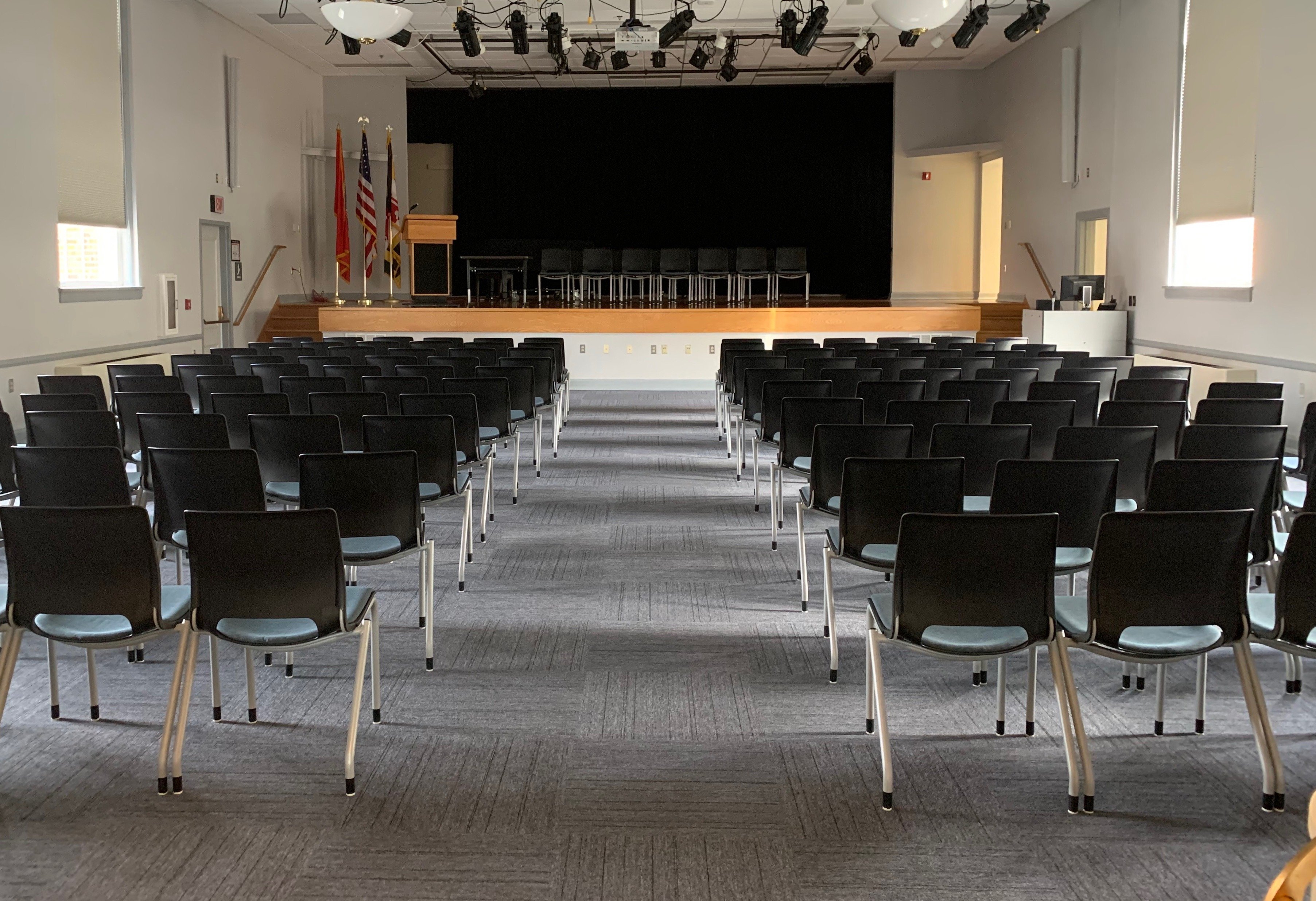 Auditorium on the Leonardtown Campus